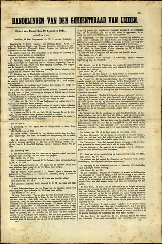 Handelingen van de Raad 1871-11-30