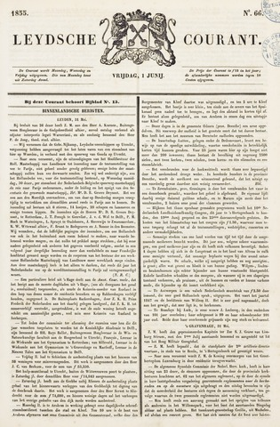 Leydse Courant 1855-06-01