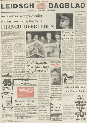 Leidsch Dagblad 1975-11-20