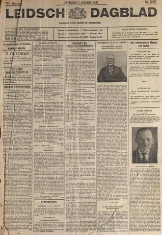 Leidsch Dagblad 1932-10-01