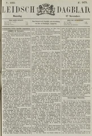 Leidsch Dagblad 1873-11-17