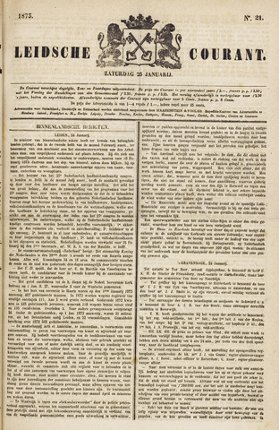 Leydse Courant 1873-01-25