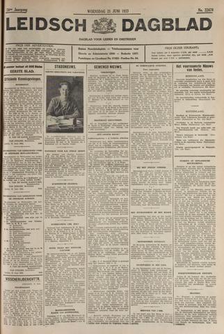 Leidsch Dagblad 1933-06-21