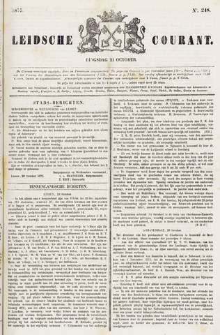 Leydse Courant 1873-10-21