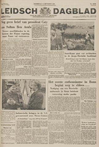 Leidsch Dagblad 1955-09-15