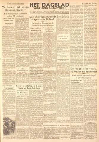 Dagblad voor Leiden en Omstreken 1944-03-20