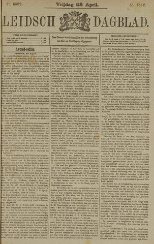 Leidsch Dagblad 1882-04-28