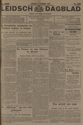Leidsch Dagblad 1940-02-17