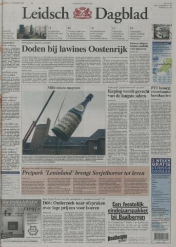 Leidsch Dagblad 1999-12-29