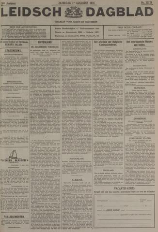 Leidsch Dagblad 1935-08-17