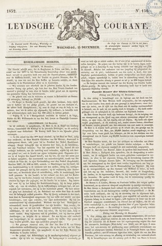 Leydse Courant 1852-12-15