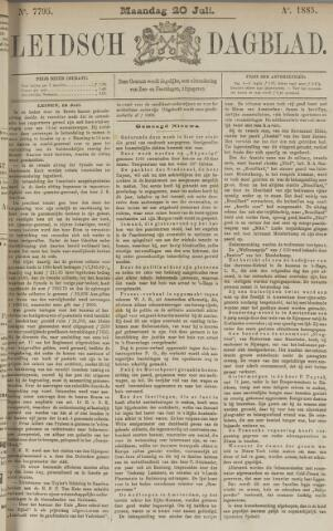Leidsch Dagblad 1885-07-20
