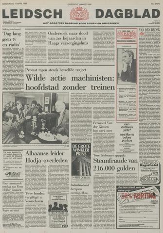 Leidsch Dagblad 1985-04-11