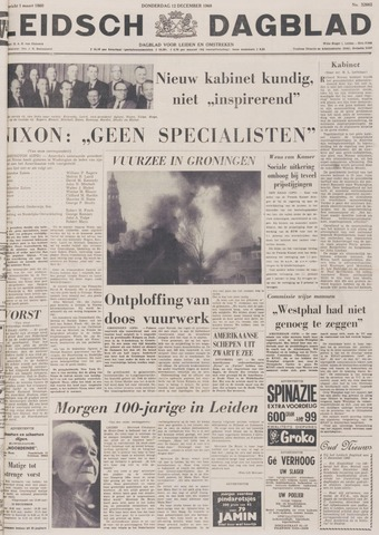 Leidsch Dagblad 1968-12-12