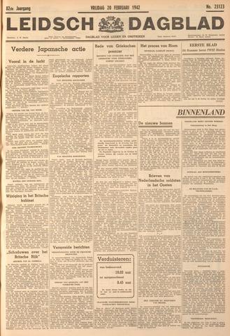 Leidsch Dagblad 1942-02-20