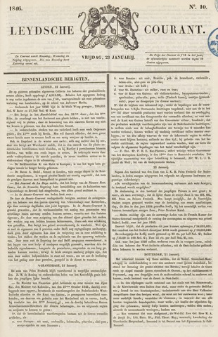 Leydse Courant 1846-01-23