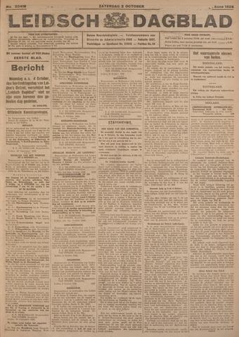 Leidsch Dagblad 1926-10-02