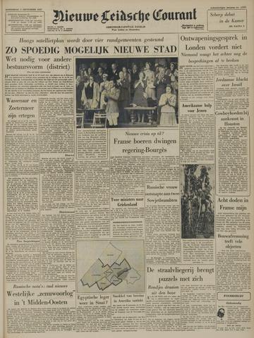 Nieuwe Leidsche Courant 1957-09-05