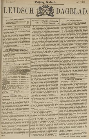 Leidsch Dagblad 1885-06-05