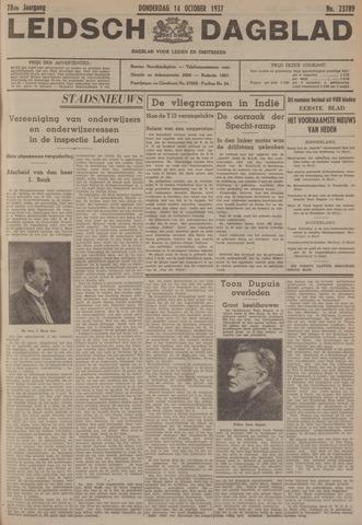 Leidsch Dagblad 1937-10-14