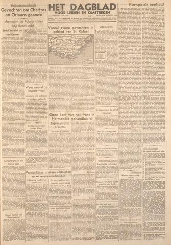 Dagblad voor Leiden en Omstreken 1944-08-18