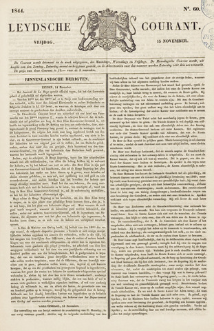 Leydse Courant 1844-11-15