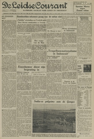 Leidse Courant 1954-01-22