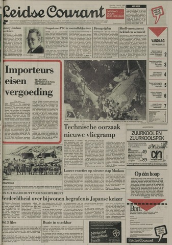 Leidse Courant 1989-01-09