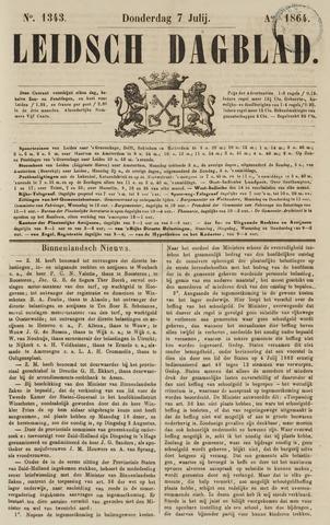 Leidsch Dagblad 1864-07-07
