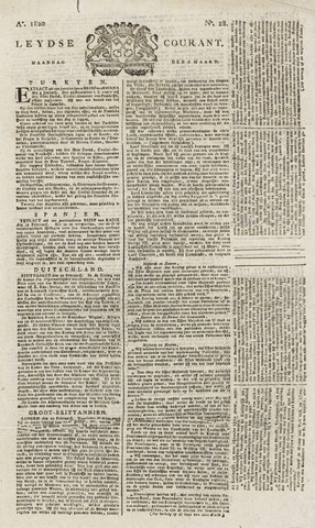 Leydse Courant 1820-03-06