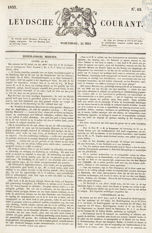 Leydse Courant 1853-05-25