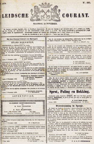 Leydse Courant 1879-11-10
