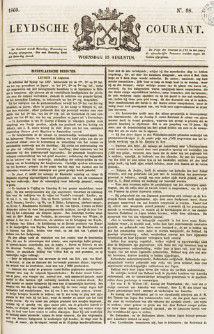 Leydse Courant 1860-08-15
