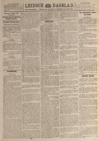 Leidsch Dagblad 1921-02-09