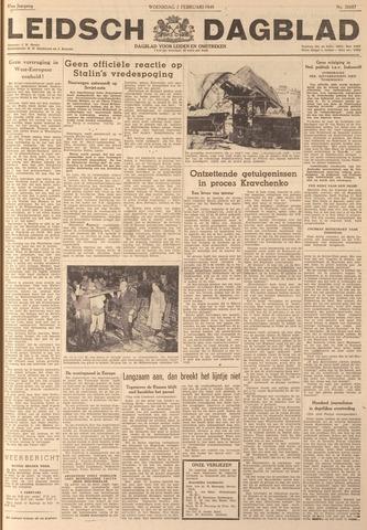 Leidsch Dagblad 1949-02-02