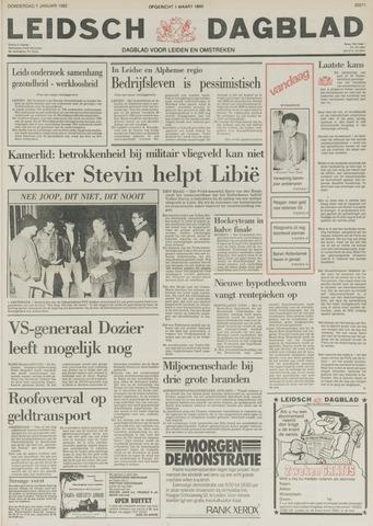 Leidsch Dagblad 1982-01-07