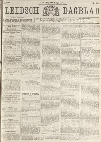 Leidsch Dagblad 1915-08-10