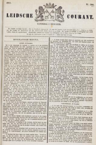 Leydse Courant 1877-12-01