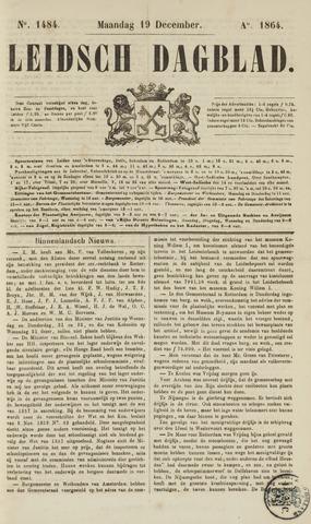 Leidsch Dagblad 1864-12-19