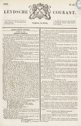 Leydse Courant 1853-07-22