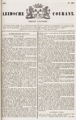 Leydse Courant 1875-11-09