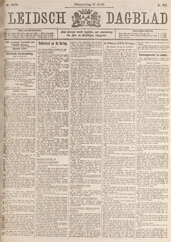 Leidsch Dagblad 1915-07-05