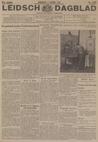 Leidsch Dagblad 1940-10-03