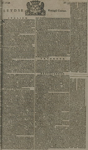 Leydse Courant 1749-03-21