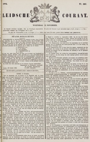 Leydse Courant 1884-11-12