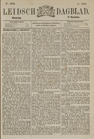 Leidsch Dagblad 1875-11-10
