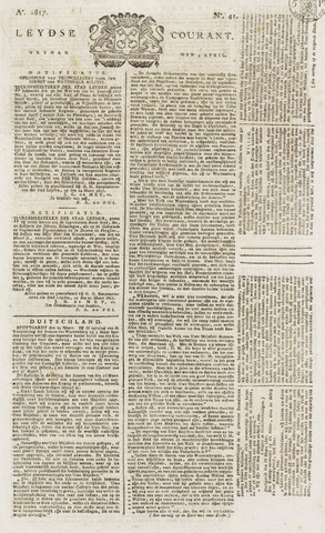 Leydse Courant 1817-04-04