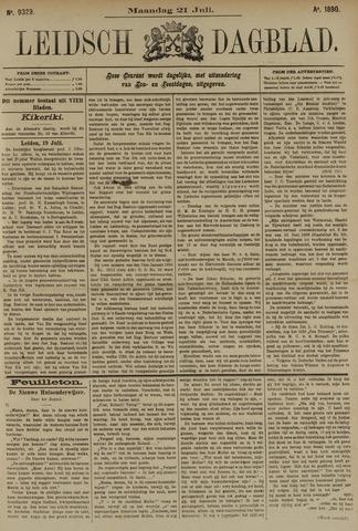 Leidsch Dagblad 1890-07-21