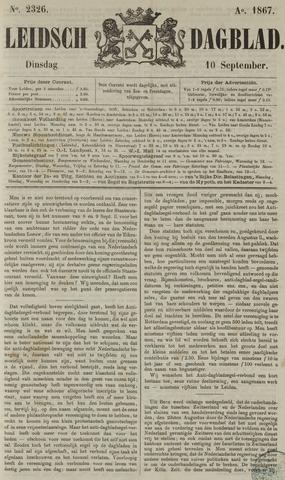 Leidsch Dagblad 1867-09-10