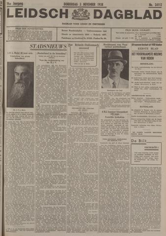Leidsch Dagblad 1938-11-03